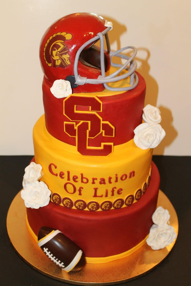 Usc Birthday Cake Images : Pin Usc Gamecock Eats Clemson Tiger Grooms Cake Flickr ...