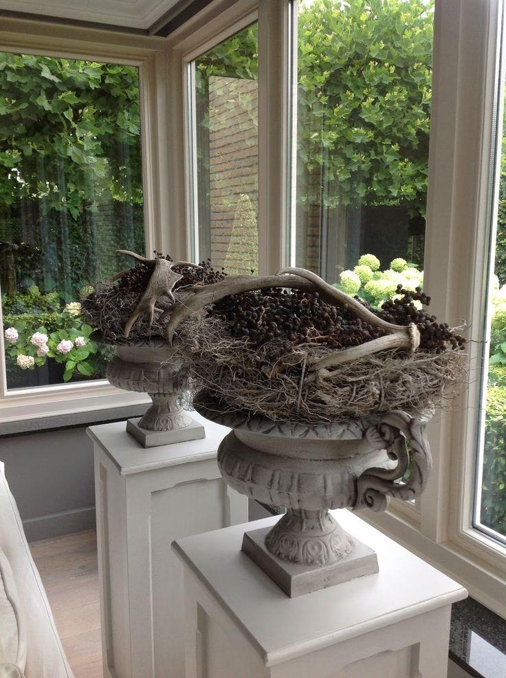 Potten voor binnen en buiten pinterest for Interieur decoratie