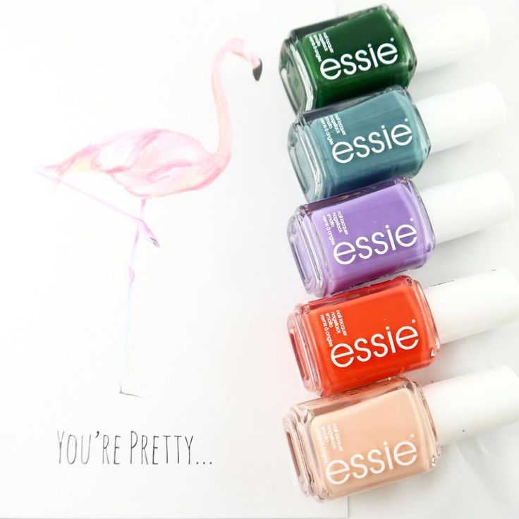 Spring has sprung with these bold and beautiful nail polish shades from essie Spring 2016 collection.