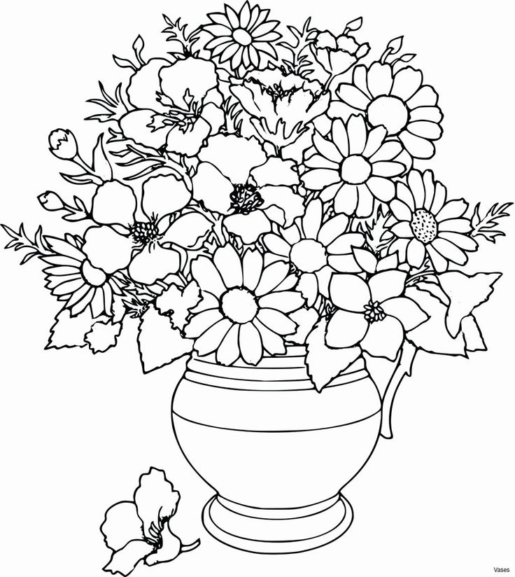 Coloring Daisy Flowers in 2020 Flower coloring pages
