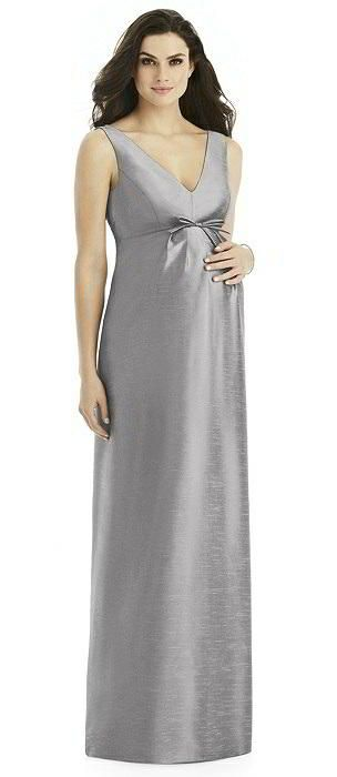 Popular Alfred Sung Maternity Bridesmaid Dress Style M