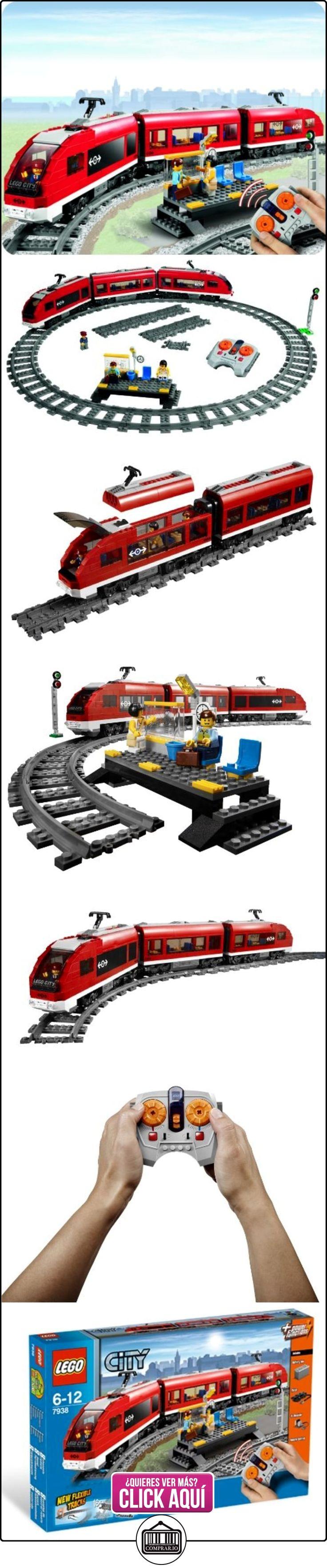 LEGO City - Tren de pasajeros (7938) (versión española)  ✿ Lego - el surtido más amplio ✿ ▬► Ver oferta: https://comprar.io/goto/B003A2JCQ8