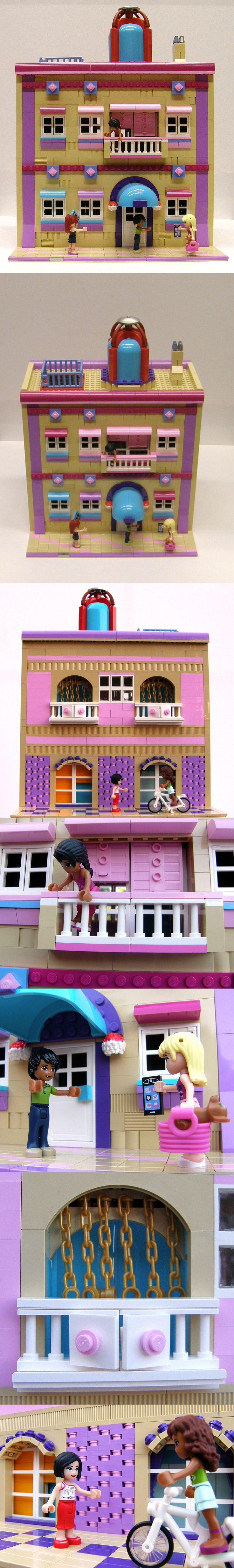 Heartlake Hotel #LEGO #Friends #Hotel #Heartlake