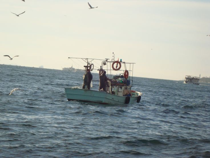 windy day for fishing at Vosporos