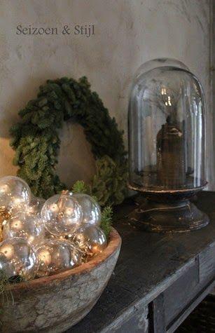 Christmas in rustic