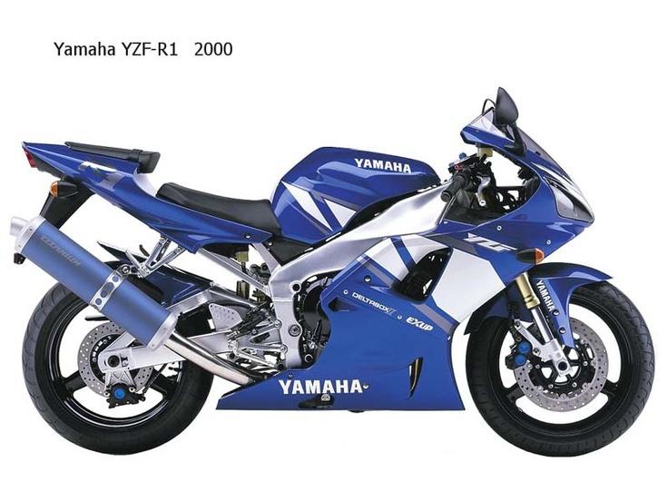 Yamaha YZF-R1 m.y. 2000