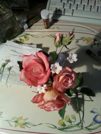 aranjament trandafiri 1