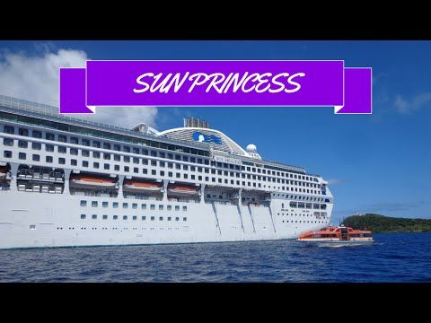 A Tour Of The Sun Princess - YouTube