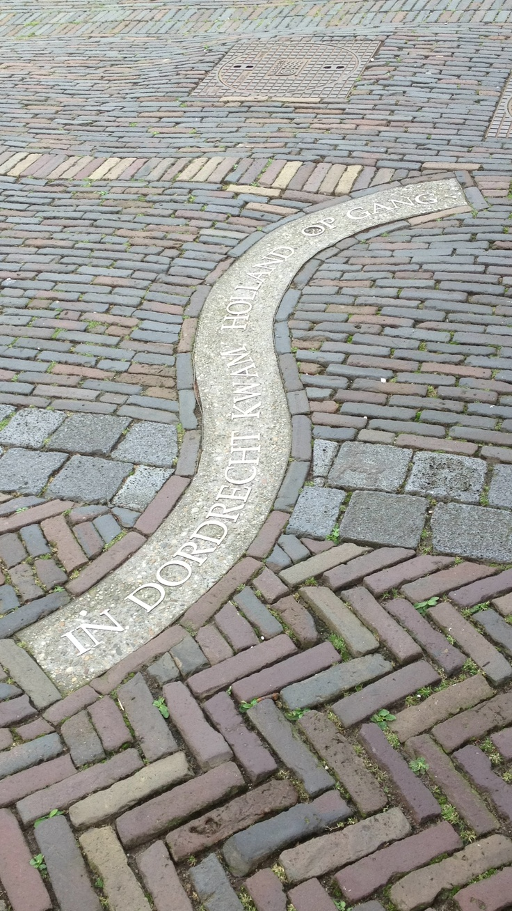 .Dordrecht, het Hof, 'In Dordrecht Holland awaked, started'