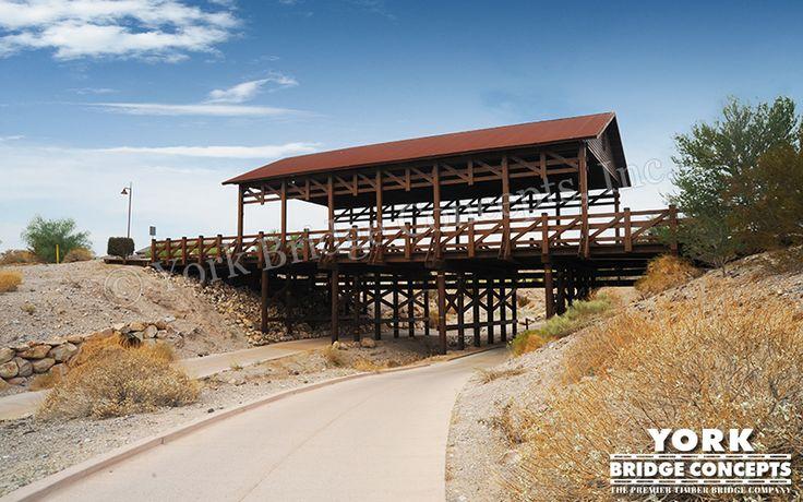 Timber Overpass Bridge: Laughlin Ranch - Bullhead City, AZ