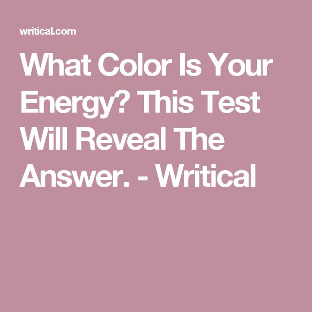 What Color Is Your Energy? This Test Will Reveal The Answer. - Writical I'm Lilac: You are as tender as lavender and have the ability to move forward in life to achieve whatever you want. You character is strong and sweet meaning you know how to get what you want and in just the right tone. You are not afraid to be who you are and love taking on new challenges. Bold and charming, your energy pulsates to others and you encourage people around you to move forward with you.