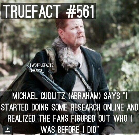 Michael Cudlitz had no clue