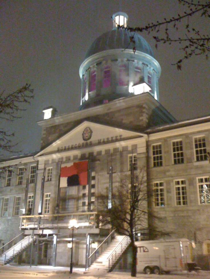 Marché Bonsecours Montreal