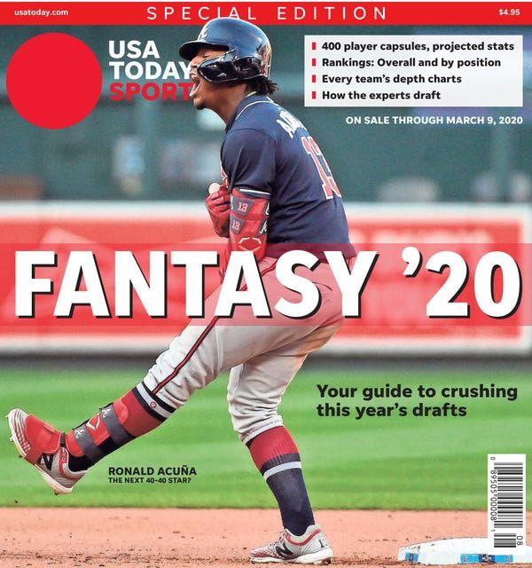 Fantasy Baseball Rankings Ronald Acuna Jr At No 1 Over Mike Trout In 2020 Fantasy Baseball Baseball Mike Trout
