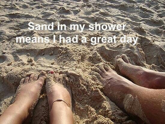 ~ Beach Life ~  I love to look at pics like this when I'm cold and want a hot, fun beach day!