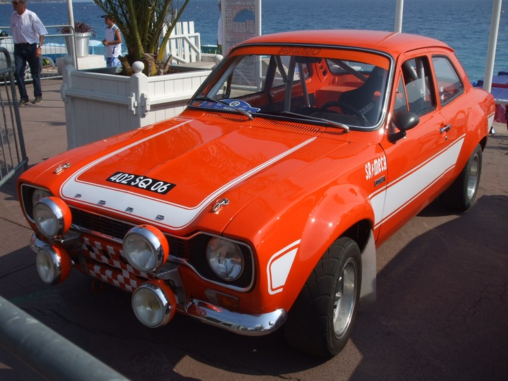 1970s Ford Escort Rally Car: Rally Car