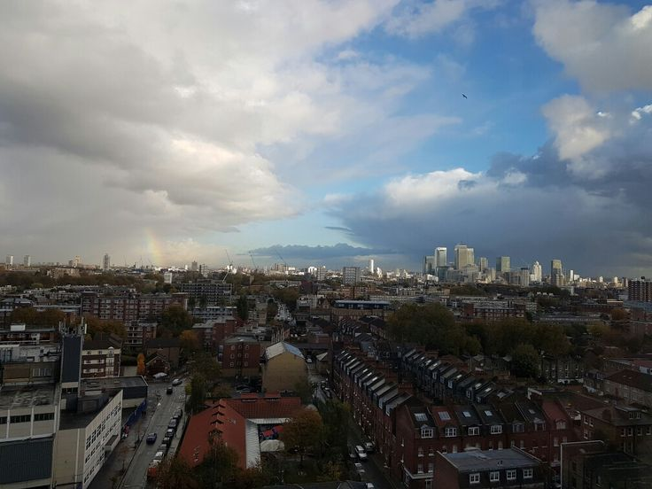 View from Royal London Hospital