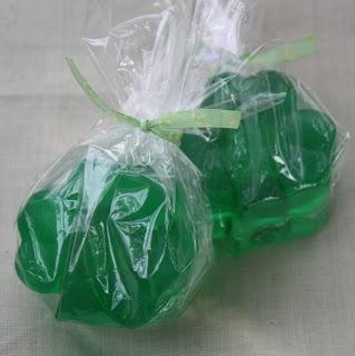Christy: Saint Patrick's Day: Shamrock Soap
