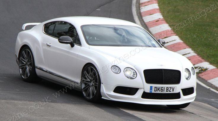 Bentley Continental 'GT3' Supersports (2014) hotter track-focused Bentley spied