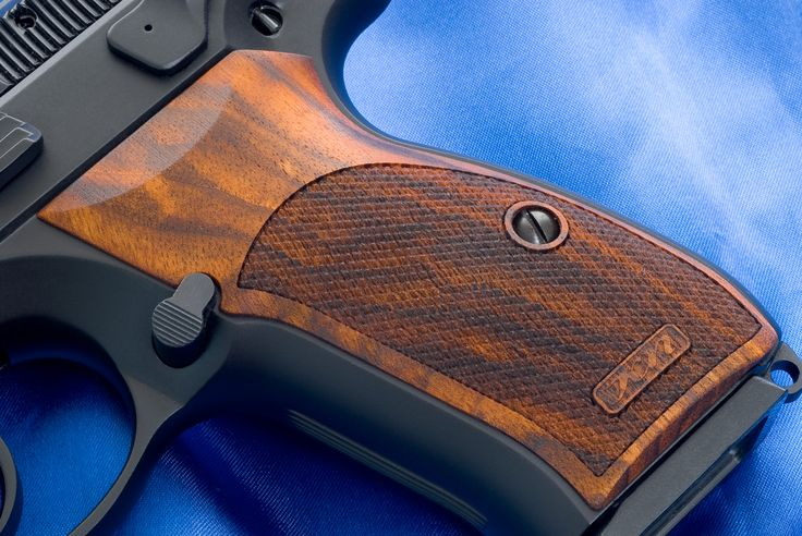 CZ 75 SP-01 Wood Grips
