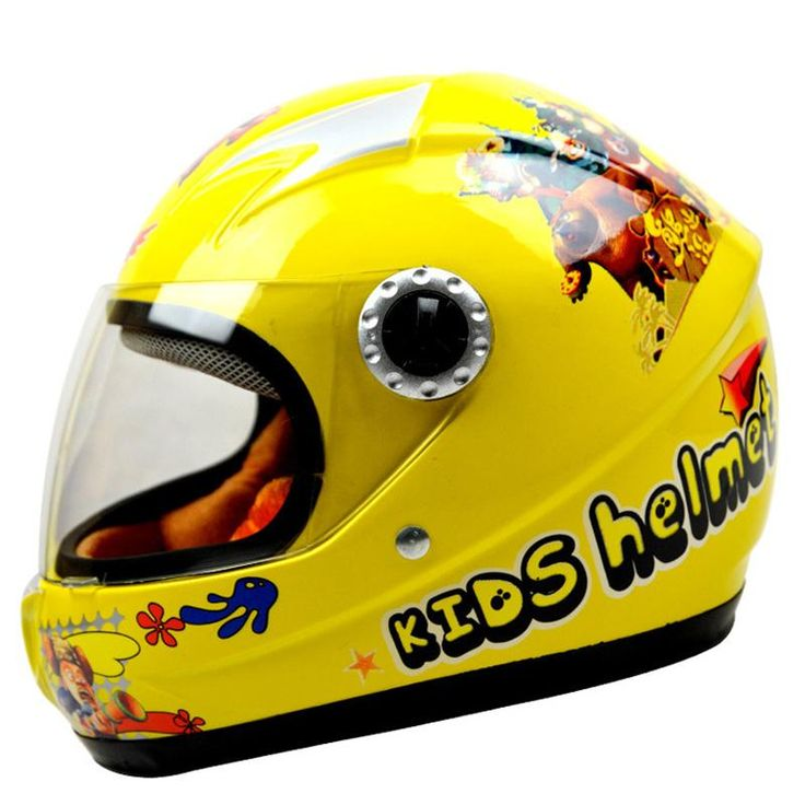 [Visit to Buy] ABS kids helmet children Motorcycle Helmet helmet safety for kids skate helmet with Collar size 48-55cm 720g #Advertisement