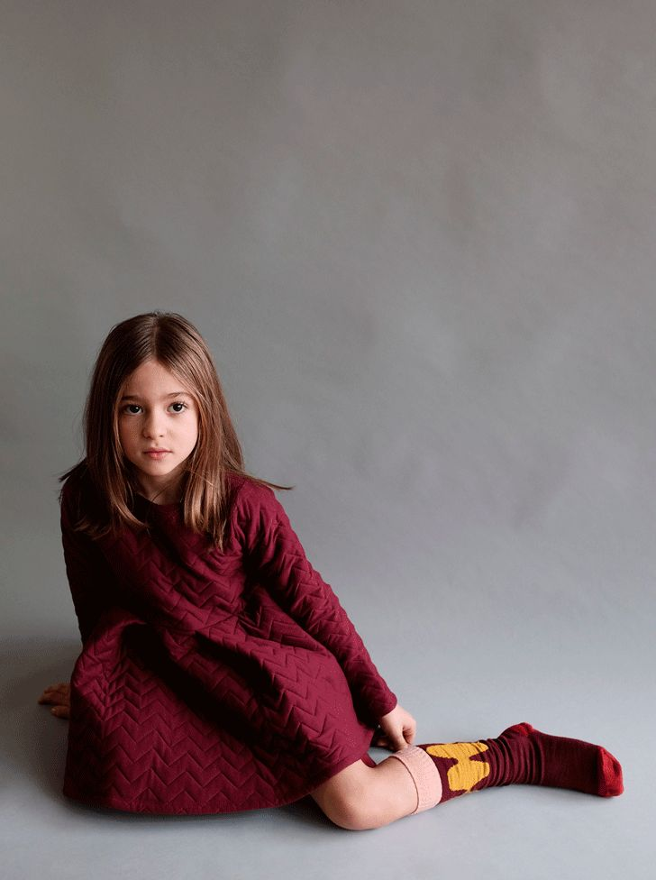 Comfy yet stylish dress for girls. A must-have for this winter
