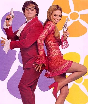 Deena Appel's costume designs for the Austin Powers trilogy were absolutely groovy, baby!