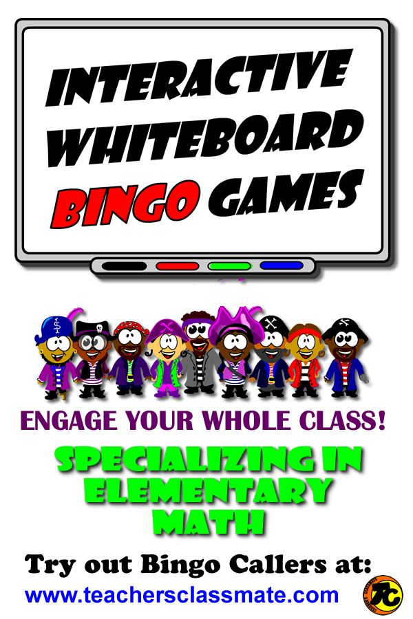 #Education. Use interactive bingo caller to draw question cards and display called answers while your class plays along with their own printed bingo card. Tons of Fun! Try out bingo callers online at: www.teachersclassmate.com