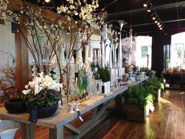 """Marc Hall Objekt - """"a city oasis of glamorous home and garden wares""""(South End store)"""