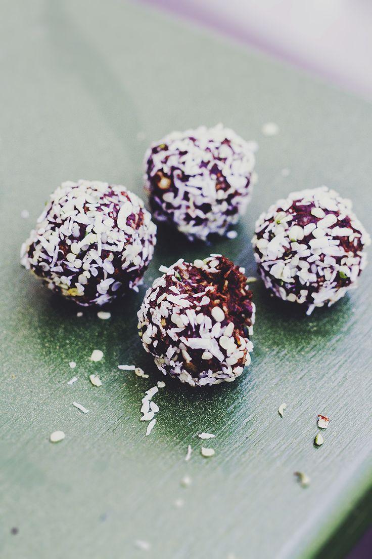 Lyxiga chokladbollar