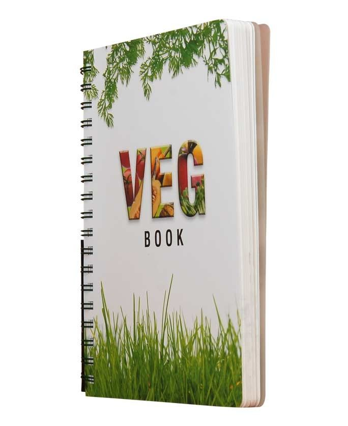 Get the lush green Veg Book at 10% off from Nightingale, as part of an exclusive deal of the month offer. The Veg Book is all about the philosophy of vegetarianism.