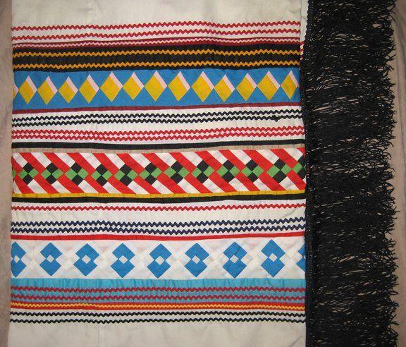 Szilvi foltvarró blogja: Két patchwork technika, amit  az indiánoktól tanul...