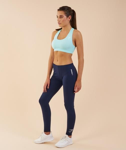 fe73655472c6e New Gymshark Ark Jersey Leggings Black Saphire Blue XS S M L XL Yoga Dance  Gym