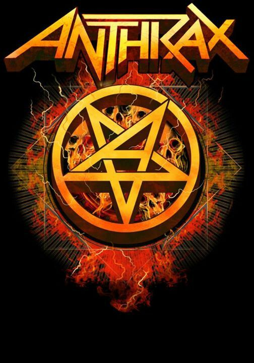 Anthrax!! one of the four founding fathers of TRASH!!