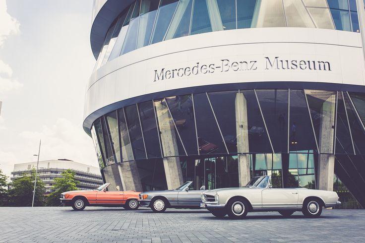Mercedes-Benz R107 & W113 im Schwabenland | Nostalgic Oldtimerreisen
