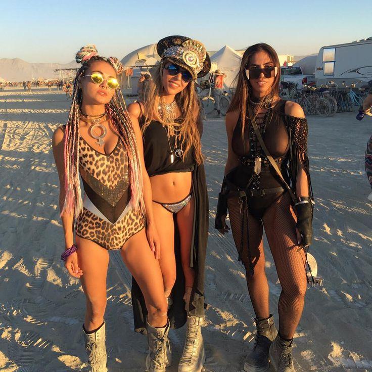 Burning Man Nude Ebony