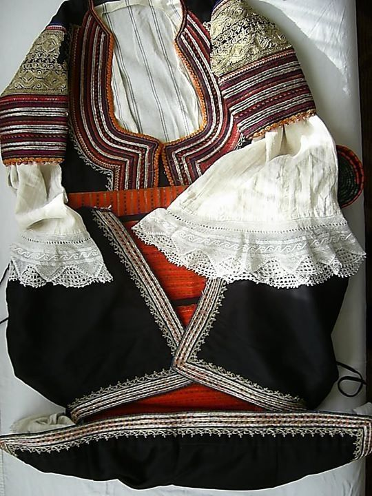 Bulgarian National Costum - Western Region