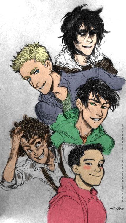 the guys of olympus
