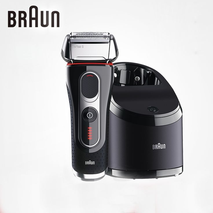 (311.99$)  Know more  - Braun Electric Shavers 5090cc For Men Shaving Rechargeable Barbeador Washable Cleaning Center Safety Razors