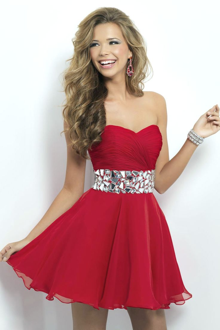 red-Cocktail-party-Dresses