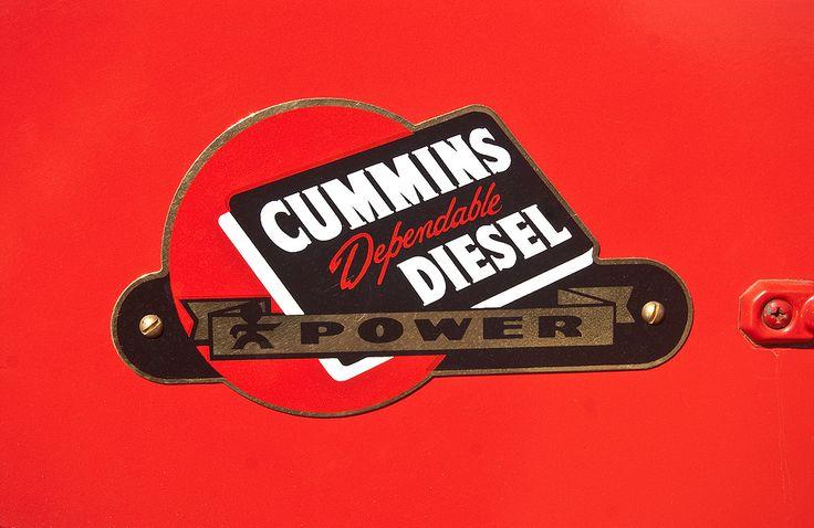 old cummins logo | Identity | Dodge trucks, Trucks, White truck