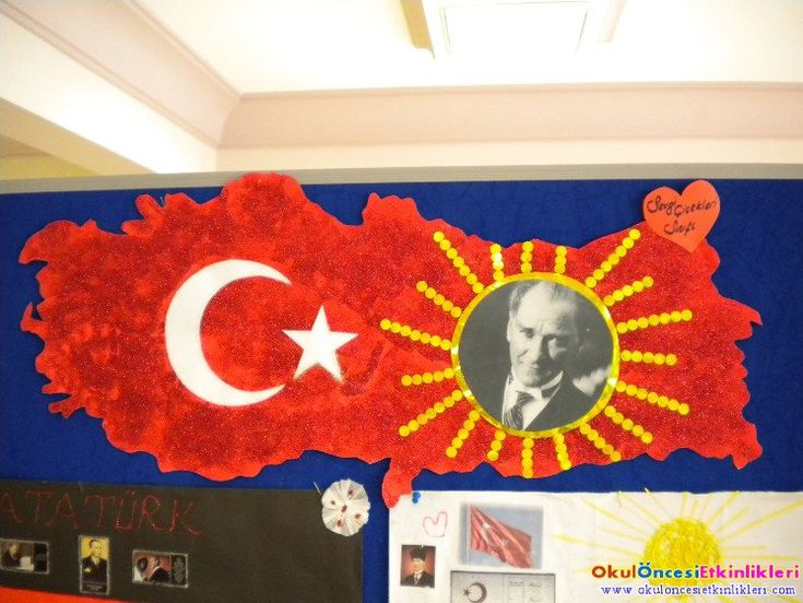 29 Ekim Cumhuriyet Bayramı Türkiye haritası