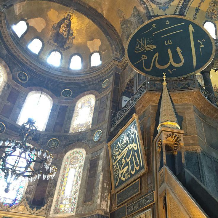 #turquia #destinations #hagiasophia #santasofia #vacations