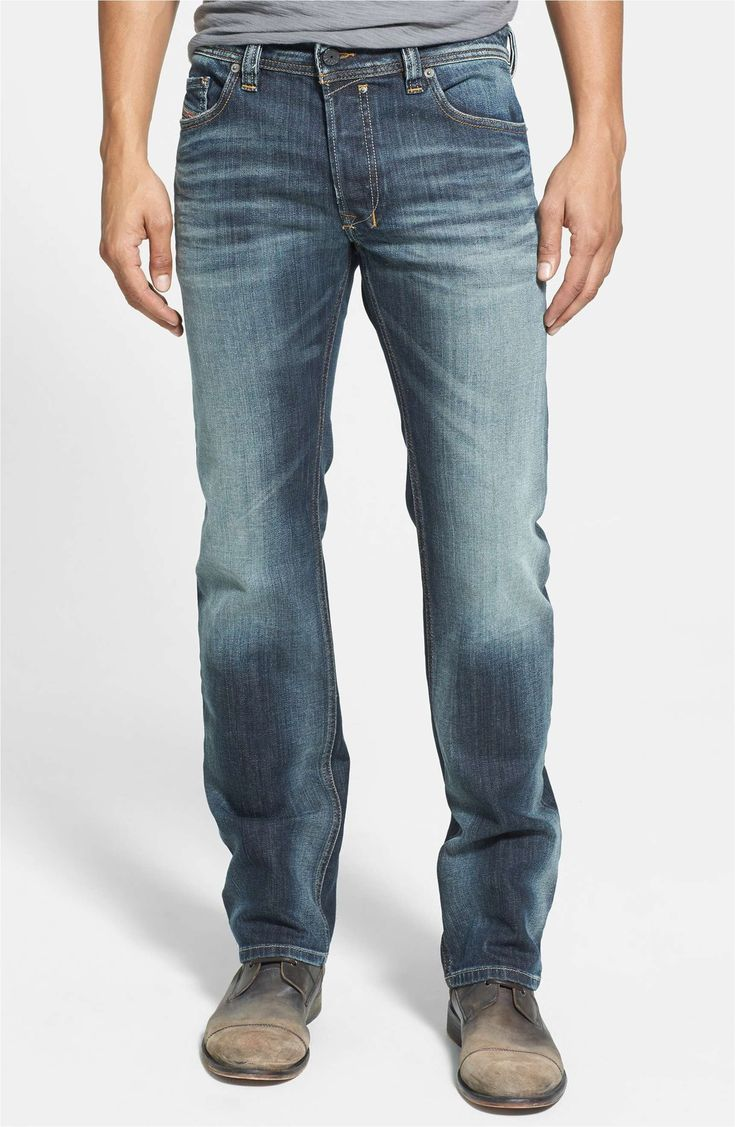 Best New Jeans for Men 2017: Diesel Slim Fit Light Wash Denim 2018