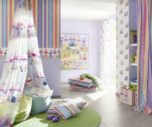 Papel Pintado Rasch Bambino 140804. ¡Ideas para decorar la habitación de sus hijos por menos de 30 EUROS! Ideales tanto para los cuartos de niños como para las habitaciones de niñas.