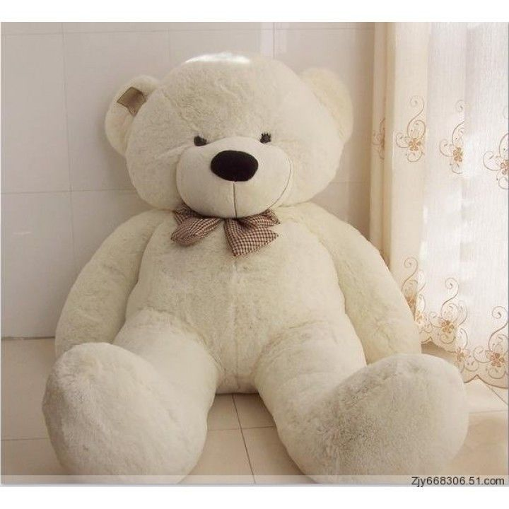 "Joyfay® 63"" 160 cm White Giant Teddy Bear Big Huge Stuffed Toy Valentine Gift #Joyfay #Christmas"
