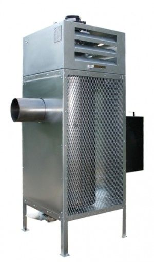 Nieuw model werkplaats verwarming ook afgewerkte olie! - Couplaza.nl!