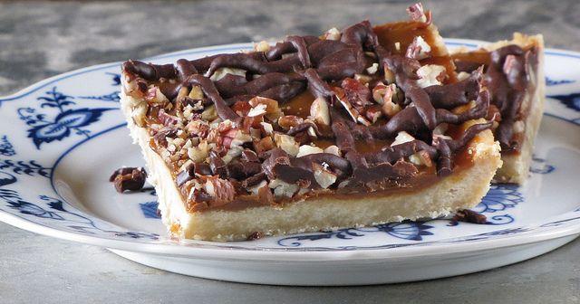 Turtle Bars: Food Desserts, Cookies Bar, Missinthekitchen Com, Turtles ...