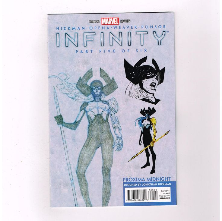 INFINITY #5 Limited to 1 for 50 Proxima Midnight variant by Jonathan Hickman! NM  http://www.ebay.com/itm/-/291608488317?roken=cUgayN&soutkn=vYfl3y