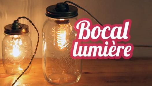 Tuto Bocal lumière - DIY Lamp jar